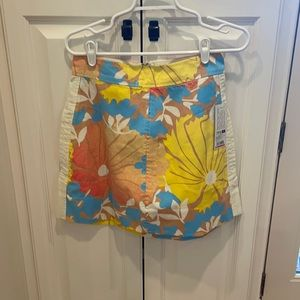 Tracy feith for target tropical skirt NWT